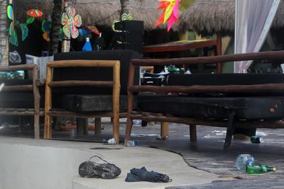 El acontecimiento sucedió a las 3 de la madrugada en Playa del Carmen