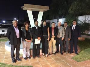 15012017 Armando López, Ilda Fernández, Fernando Zataraín, Carmen Luna, Eduardo Luna, Enrique Vázquez, Juan L. Morales y David Aguilera.