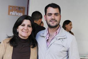 15012017 Lina Serhan y Eduardo Lira.