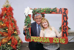 15012017 MUY CONTENTOS.  Luis y Blanca y Rodríguez.