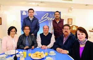 16012017 Diana, Luis, Luis Arturo, Carlos, Yeye, Guillermo y Roberto.