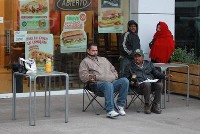Particularmente en el Centro Multipago Plaza Jardines, ésta semana ha habido filas desde la madrugada.
