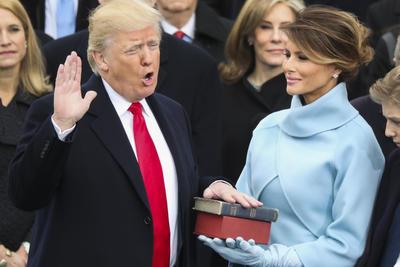 Donald Trump se convirtió en el presidente número 45 de los Estados Unidos de América.