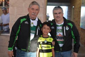 Carlos, Diego y Raúl