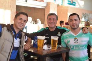 Luis Gerardo, Miguel y Gerardo