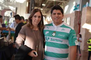 Mariana y Diego Armando