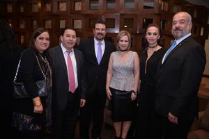 Canela, Daniel, Julio, Magaly, Angélica y José Antonio