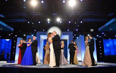 La gala forma parte de los eventos protocolarios de investidura del nuevo presidente de Estados Unidos.