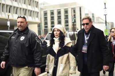 La marcha tuvo el apoyo significativo del mundo del espectáculo con estrellas como Cher, Scarlett Johansson, Ashley Judd, Melissa Harris-Perry y el documentalista Michael Moore.