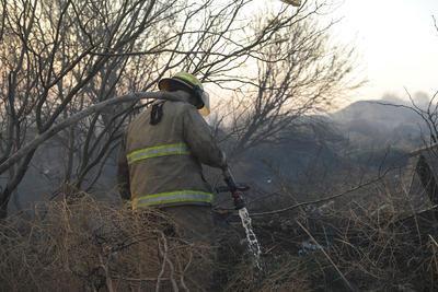 Los bomberos antendieron el llamado oportunamente.