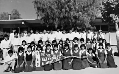 "22012017 Alumnos de la Secundaria Federal No. 1 de Matamoros, Coahuila, Generación 1982 - 1985 Grupo ""F""."