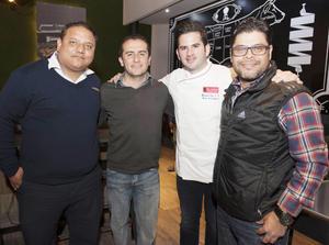 22012017 Juan Carlos, Luis, Goyo y Jorge.