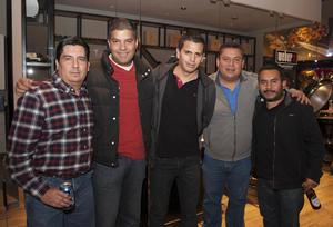 22012017 Jorge, Alejandro, Omar, Alaim y Jorge.