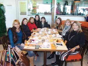 23012017 Sandra, Reno, Alicia, Analia, Tere, Caro, Olga e Isabel.