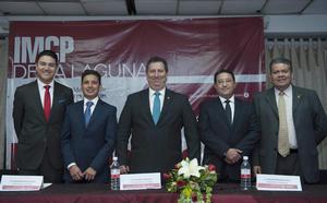 24012017 Benani, Jorge Martínez, José Besil, Erasmo Nevárez y José Espino.