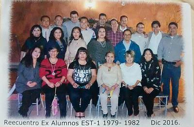 26012017 Exalumnos de la EST 1 Generación 1979 - 1982.