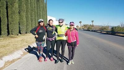 26012017 Margarita, Mónica, Fabiola y Emma.