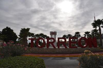 """La Plaza Cívica del Torreón se encuentra en una de las principales entradas a la ciudad, en bulevar Constitución entre las calles Múzquiz y Ramos Arizpe. Misma que será la estación """"Nazas"""" del Metrobús."""