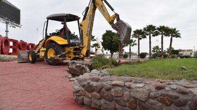 Los trabajos comenzaron y con ello los planes de mejoramiento de la placita de una de las primeras colonias de Torreón.