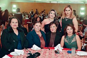26012017 CONVIVEN.  Elizabeth, Anahí, Laura, Sandra, Cristina y Nidia.