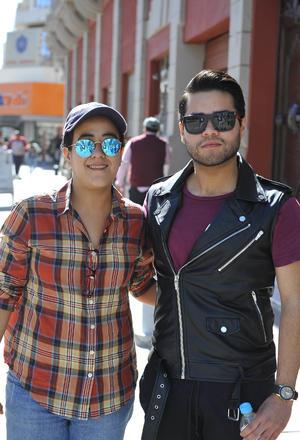 26012017 Frida Maldonado y Rogelio Vega.