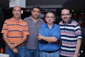 27012017 Mike, Guillermo, José y Chato.