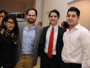 27012017 Mariana, Juan, Christian y Miguel.