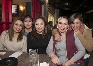28012017 Anabel, Ely, Judith, Jessy y Karina.