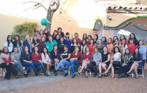 28012017 Educadoras de preescolar de la SEP - DI130, en su posada el pasado 22 de diciembre en La Villita Feliz.