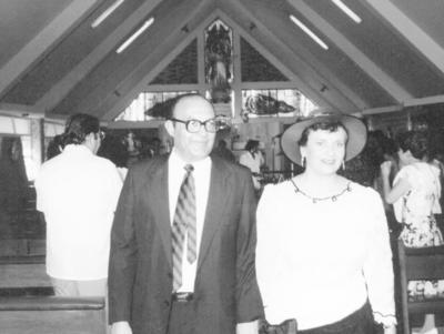29012017 Salvador Viramontes Valdez y María del Carmen Ibarra de Viramontes en su 25 aniversario matrimonial.
