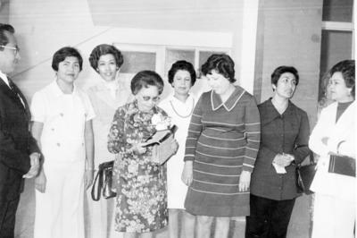 29012017 Carmen de la Vega, Laura Emma Wong y compañía en 1975.