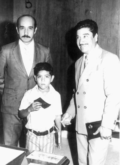 29012017 Alfredo Medrano y compañía en 1972.