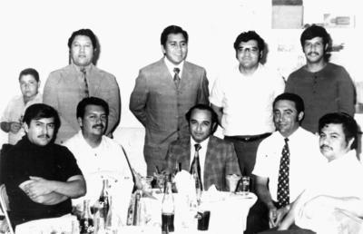 29012017 Despedida de Nicólas Abusamra Cornejo en 1973.
