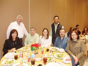 30012017 Maricruz, Rafael, Andrea, Víctor, Mónica, Jorge y Pedro Hugo.