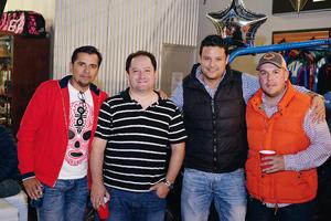 29012017 Jorge, Mauricio, Óscar y Gerardo.