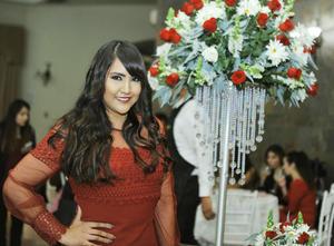 29012017 SE CASARá EN ABRIL.  Alejandra Cepeda Rubio, captada en su despedida de soltera.