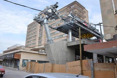 La obra civil lleva un 85 por ciento y lo relacionado con la construcción de las estaciones está a un 50 por ciento.