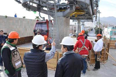 Será la misma empresa constructora Ingecable que le realiza la obra civil a la italiana Leitner Ropeways la que capacite durante seis meses a la empresa que se haga cargo del mantenimiento.