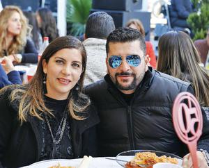 31012017 EN FESTEJO.  Marcela y Alejandro.