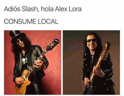 Alex Lora no le pide nada a ningún rockero 'gringo'.