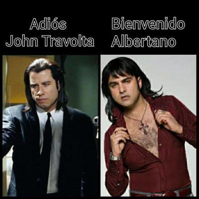 Albertano es más gracioso, comprado por los mexicanos.