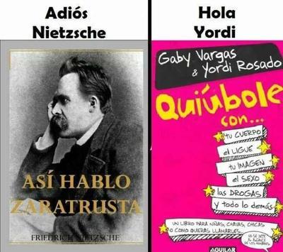 Grandes pensadores e ilustres filósofos, Yordi Rosado no le pide nada a los históricos...