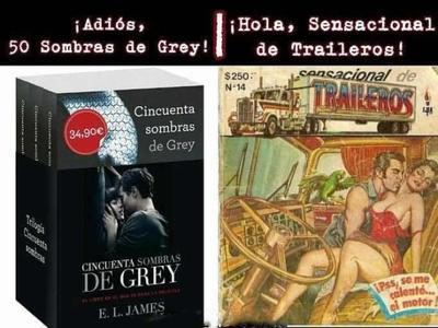 Y en el ámbito de la literatura moderna, no más lecturas eróticas estadounidenses, mejor consuman lo mexicano...