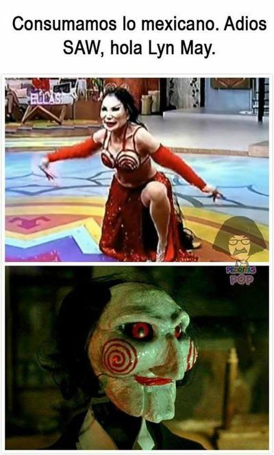 Una comparación macabra...