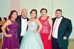 25062017 Valeria, Emilio, Ana Fabiola, Fabiola y Emilio.