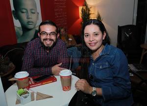 Jorge y Denisse.