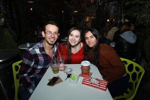 Luis, Samantha y Ale.