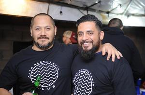 03022017 AMIGOS.  Israel Pérez y Juan González.