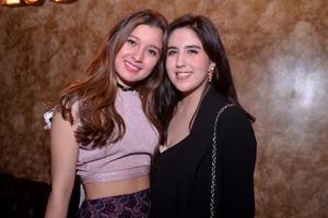 Claudia y Ana Laura