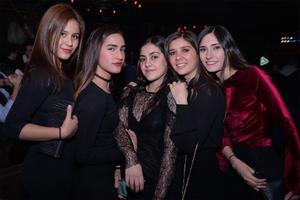 Laura, Paola, Nidia, Pamela y Greta